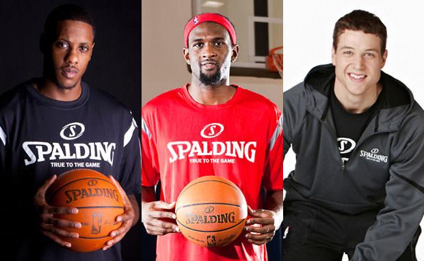 Spalding Signs Jimmer Fredette, Mario Chalmers & Chris Singleton as Brand Ambassadors