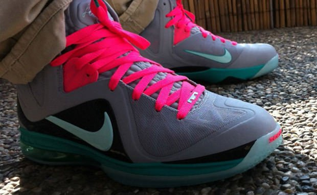 "Nike LeBron 9 P.S. Elite ""South Beach"""