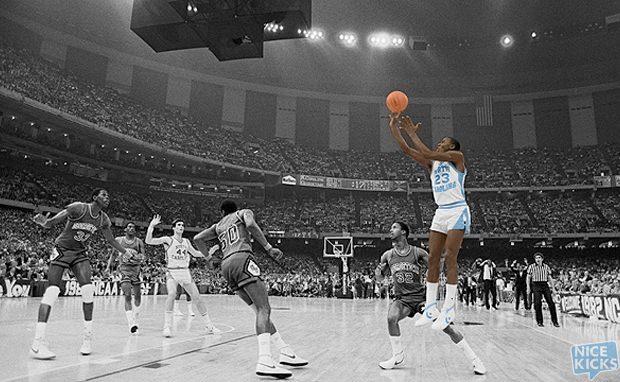 Basketball - NCAA Tournament - North Carolina vs. Georgetown.
