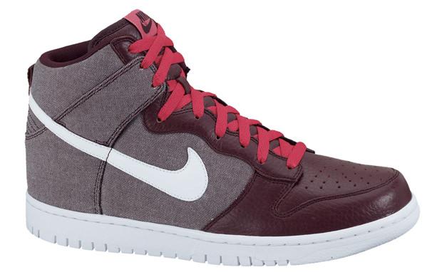 """Nike Dunk Hi """"Red Mahogany"""""""