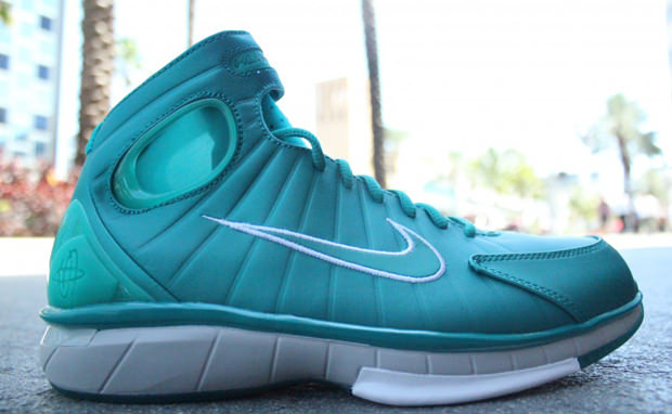 Nike Air Zoom Huarache 2K4 Lush Teal/New Green