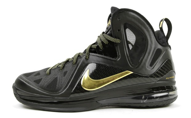 new concept d5a8f 0f1aa nike lebron 9 black and gold