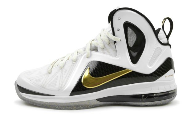 Nike LeBron 9 P.S. Elite White/Metallic Gold
