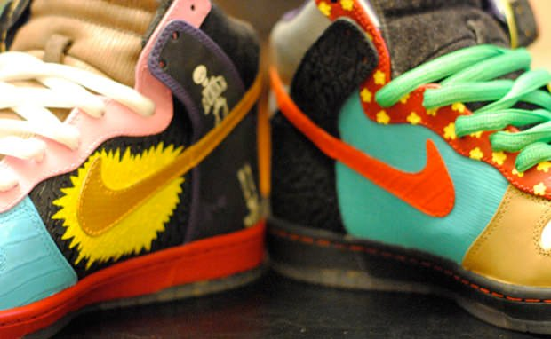 Nike Dunk High What the Dunk Custom
