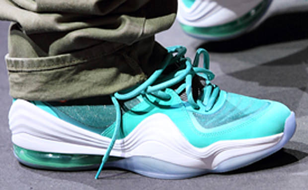 Wale Debuts the Nike Air Penny 5 Dolphins