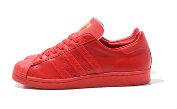 adidas Superstar 80s Red/Red
