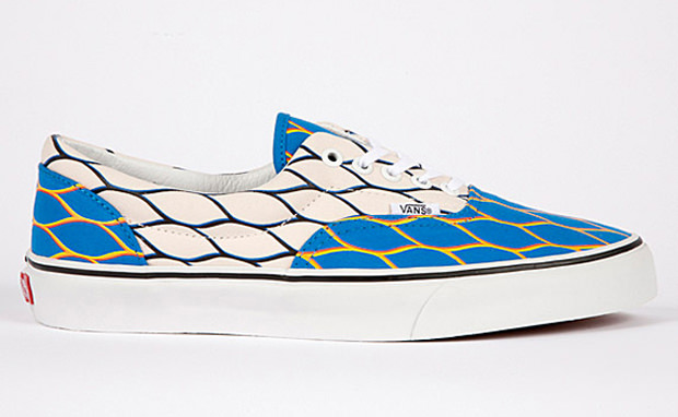 Kenzo x Vans Era White/Blue-Gold