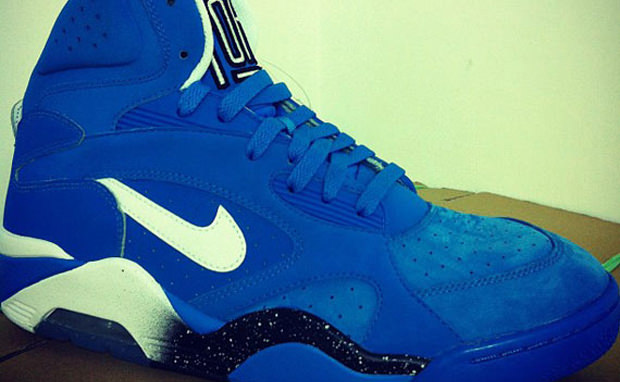Nike Air Force 180 High Blue/Black