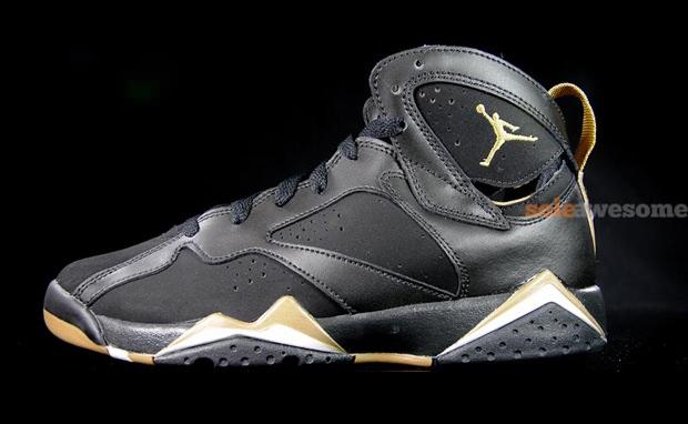 """Air Jordan 7 GS """"Gold Medal"""" Pack"""