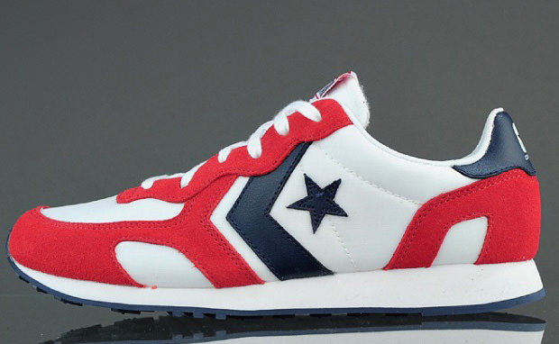 Converse Auckland Racer Ox Red/White-Navy   Nice Kicks