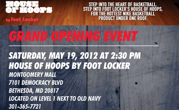 House of Hoops Grand Opening Bethesda, MD