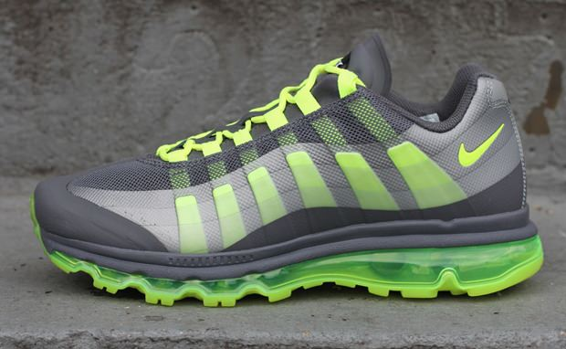 Nike Air Max+ 95 360 Dark Grey/Volt