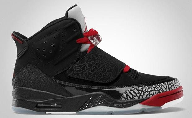 Jordan Son Of Mars Black Varsity Red