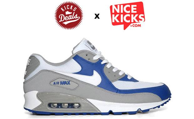 Nike Air Max 90 Medium Grey/Varsity