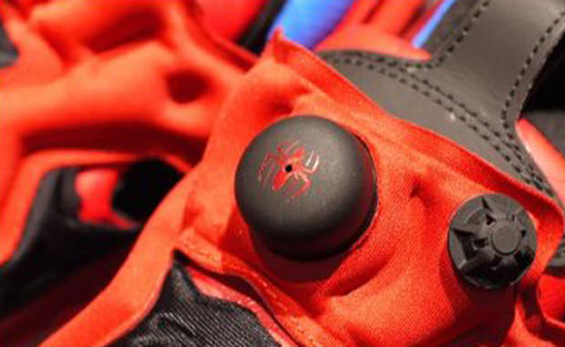Marvel x Reebok Insta Pump Fury Spiderman
