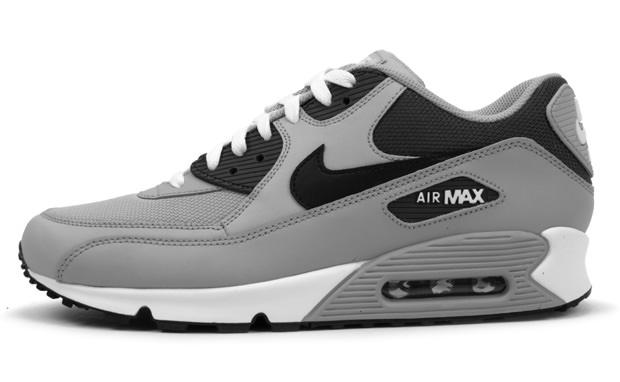 Nike Air Max 90 Wolf Grey/Black-Midnight Fog