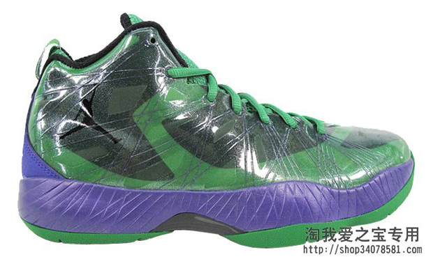 Air Jordan 2012 Lite Green/Purple