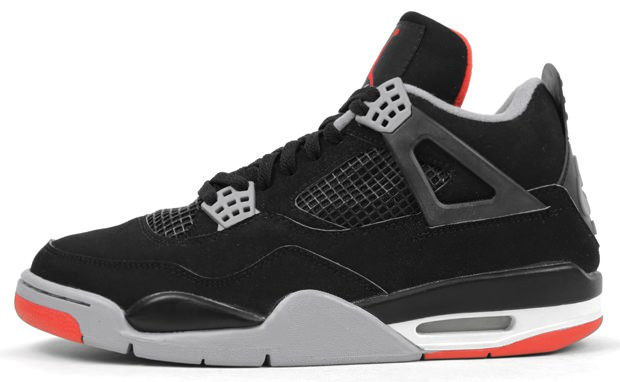 Air Jordan 4 Black/Cement