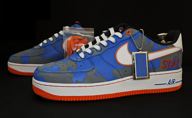 """Amar'e Stoudemire x Bespoke Nike Air Force 1 """"Always on Live"""""""