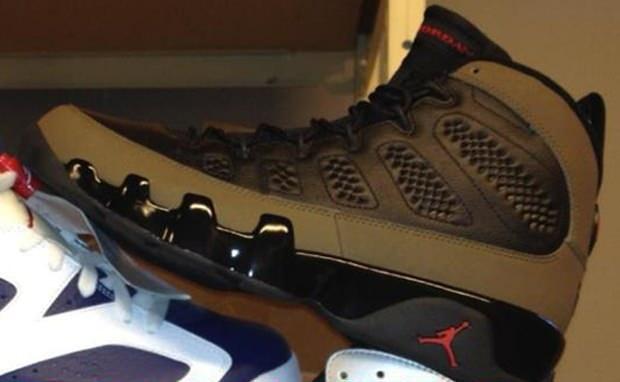 """Air Jordan 9 """"Olive"""""""