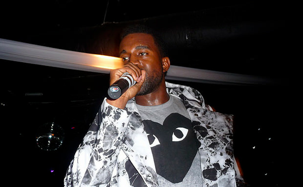 Celebrity Rewind: Kanye West Gets Fly in Jeremy Scott Wings