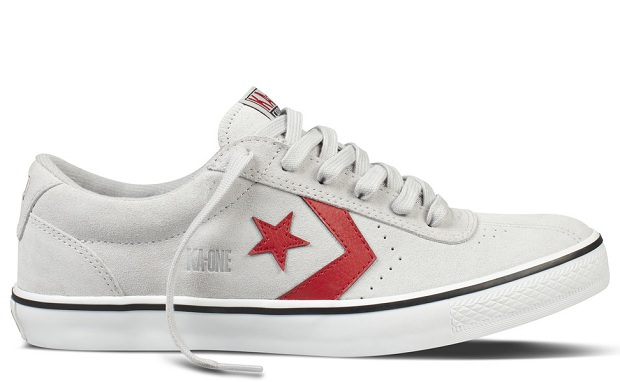 Converse KA-One Vulc - Lunar Rock/Varsity Red