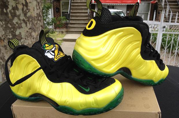 Nike Air Foamposite One Oregon Ducks Custom