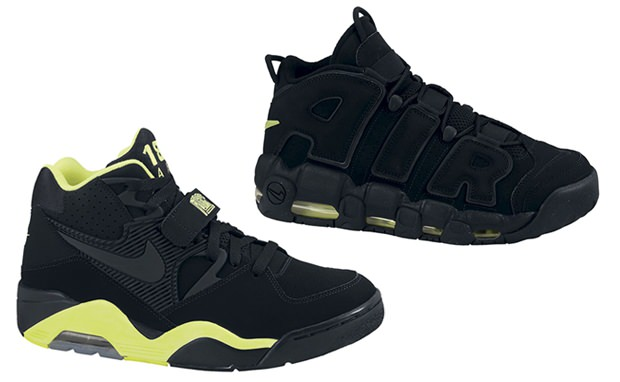 Nike Basketball Retro Black/Volt Pack