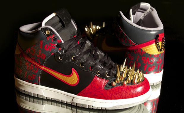 Nike Dunk Hi Higher End Custom
