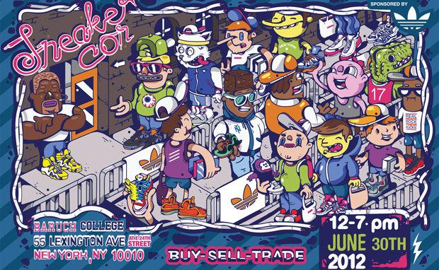 Sneaker Con NYC Summer 2012