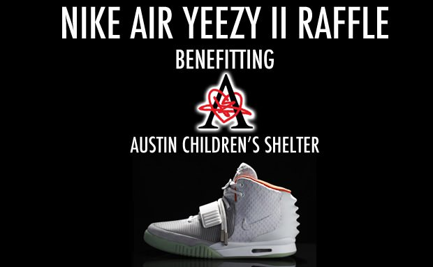 Nike Air Yeezy II Charity Raffle