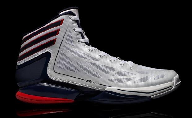 adidas Crazy Light Red/White-Blue