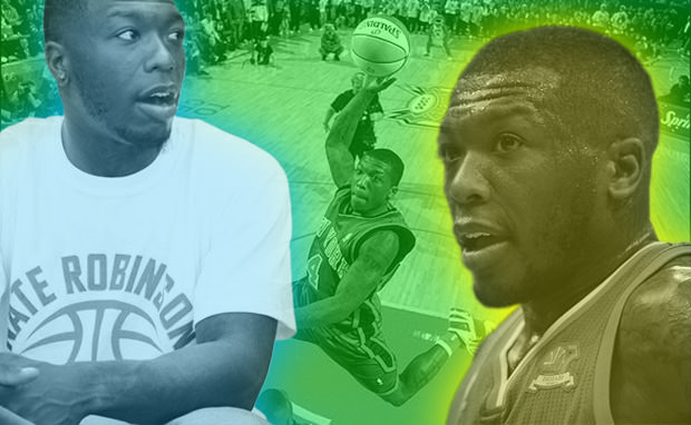 Guard Nate Robinson of the New York Knic