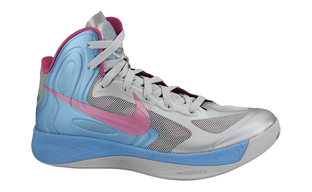 Nike Hyperfuse Cool Grey/Thunder Blue-Fireberry
