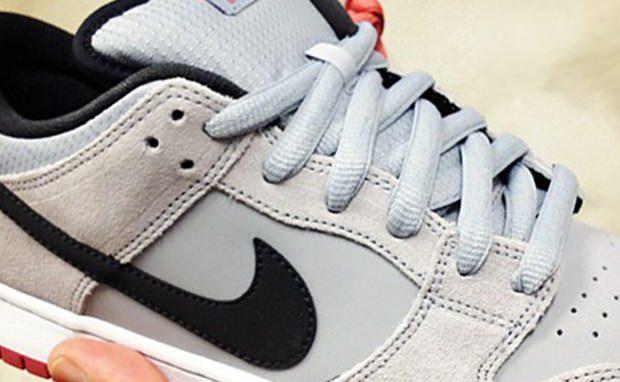 Nike SB Dunk Low Grey/Black-Red