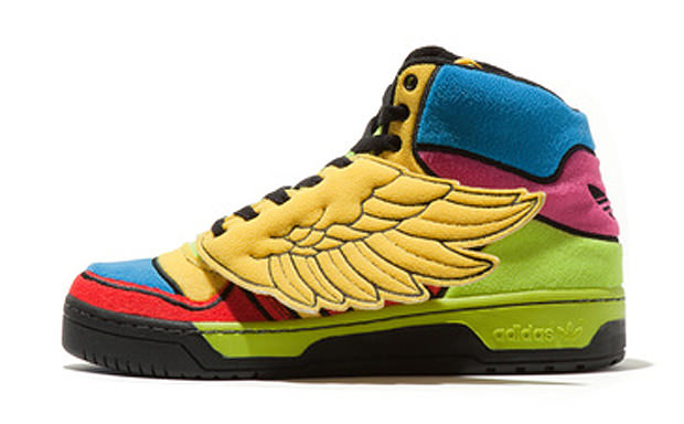 Jeremy Scott x adidas Wings Rainbow
