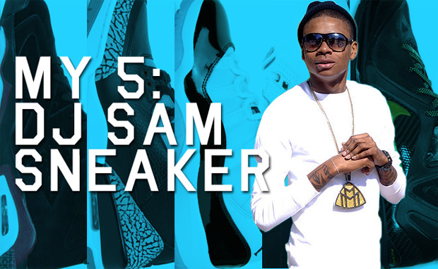My 5 DJ Sam Sneaker's Sneaker Rotation