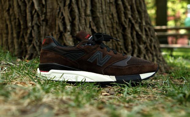 New Balance 998 Brown Black