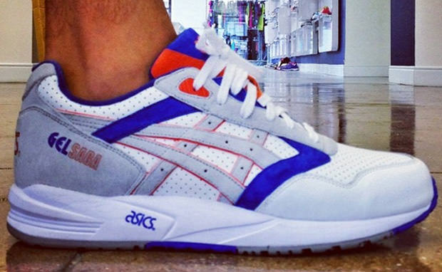 Ronnie Fieg x ASICS Gel Saga Knicks Sample