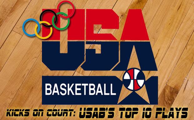 Kicks On Court: USAB's 10 Best Plays (1992-2012)