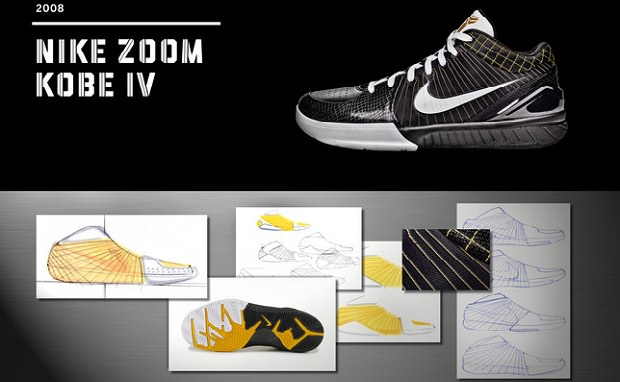 20 Designs That Changed the Game: Nike Zoom Kobe IV