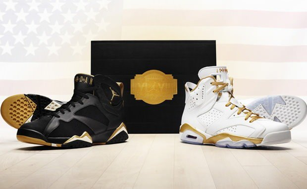 Air Jordan 6 7 Golden Moments Pack Officially Unveiled