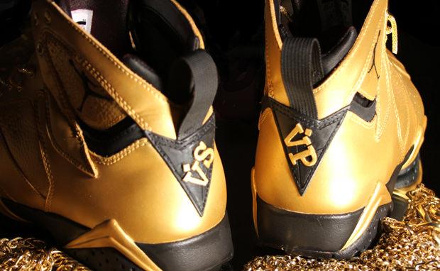Air Jordan 7 Goldie Custom