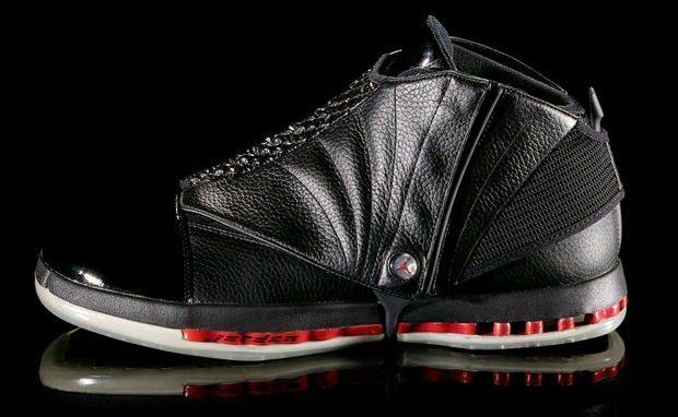 Air Jordan 16 Black/Red