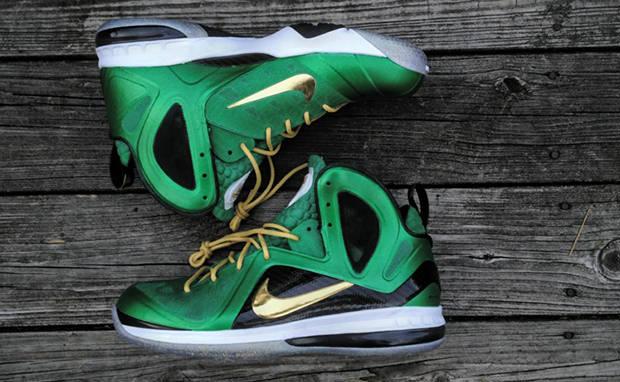 "Nike LeBron 9 P.S. ""SVSM"" Custom"