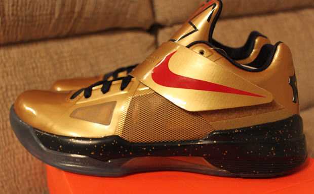 Nike Zoom KD IV Gold Medal