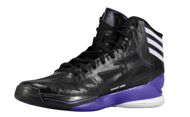 adidas adiZero Crazy Light 2 Black/White-Regal Purple