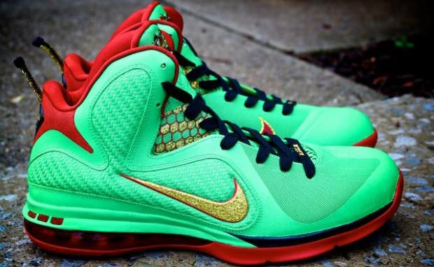 "Nike LeBron 9 ""Year of the Dragon"" Custom"