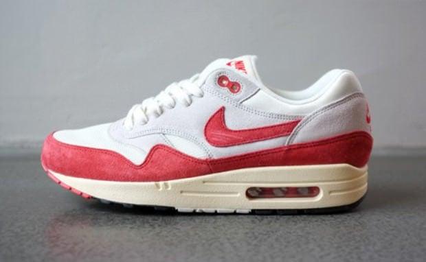 Nike Air Max 1 OG White/Red | Nice Kicks
