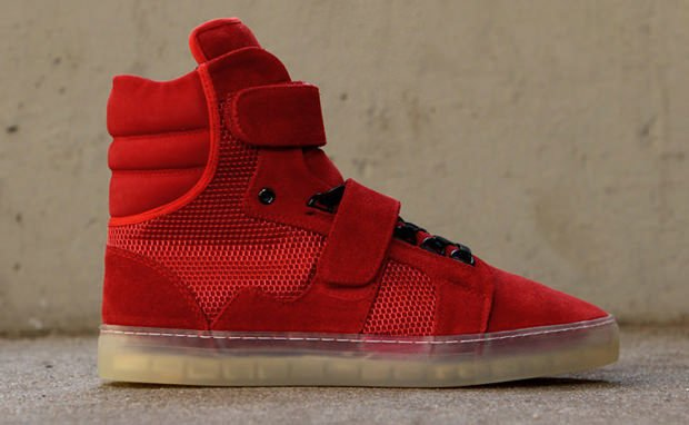 Android Homme Propulsion Red Grey Nice Kicks
